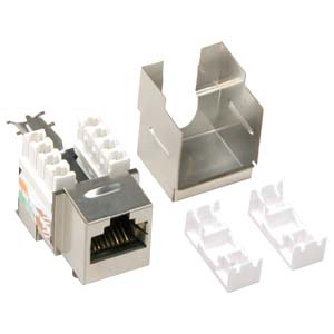 cat 6 shielded inserts cat6 shielded inserts cat 6 shielded jacks the screened twisted pair sctp category 5e modular connector shielded rj 45 keystone jack is 8 position 8 conductor 8p8c and provides shielding