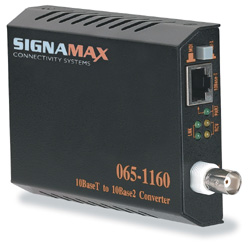 Signamax 10baset To 10base2 Converter 10baset To 10base2